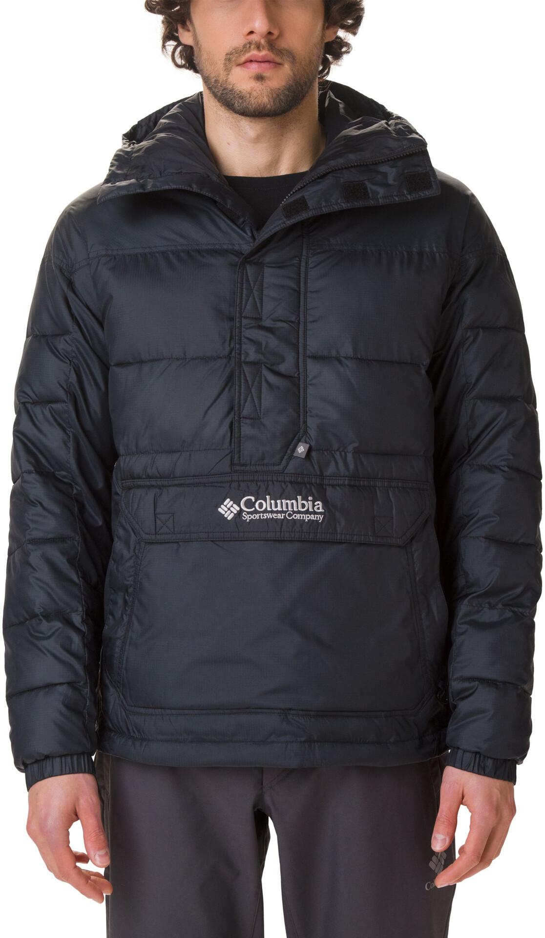 Columbia Columbia Lodge Giacca Pullover Uomo, black